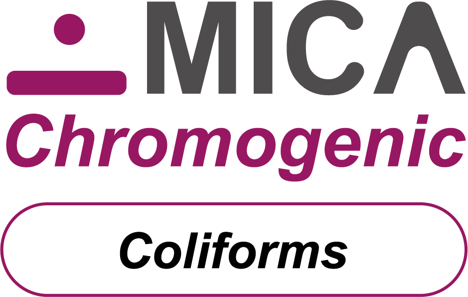 Chromogenic solution with MICA for fast counting of coliforms bacteria